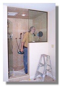 with maine shower door the guy who comes to your home to measure is the same guy who installs your frameless enclosure we donu0027t do car windshields or