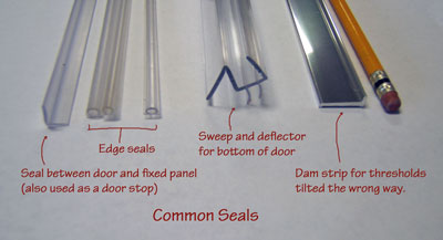 Door Stop And Seal Seals