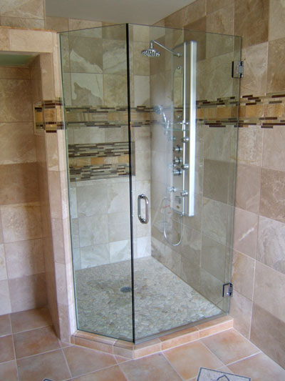 ... Two thirds Neo Angle & Frameless Shower door FAQS and Facts