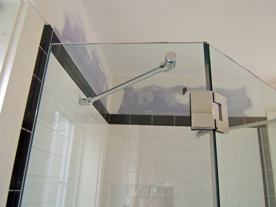 Support Bars On A Neo Angle Shower