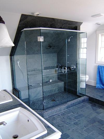 Three Panel And Up Frameless Shower Doors