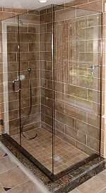 Camden Frameless Shower